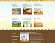 website creation agricultural products
